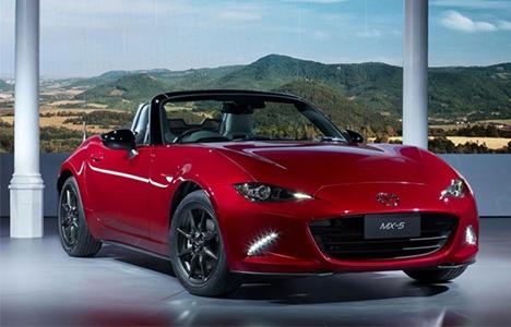 Mazda MX-5 ปี 2016 เผยสเปคเครื่องยนต์