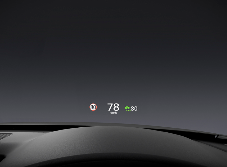 WINDSHIELD ACTIVE DRIVING DISPLAY