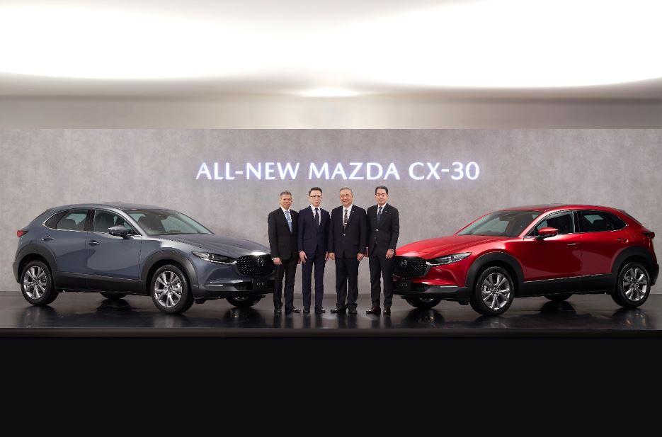 มาสด้าเปิดตัว ALL-NEW MAZDA CX-30