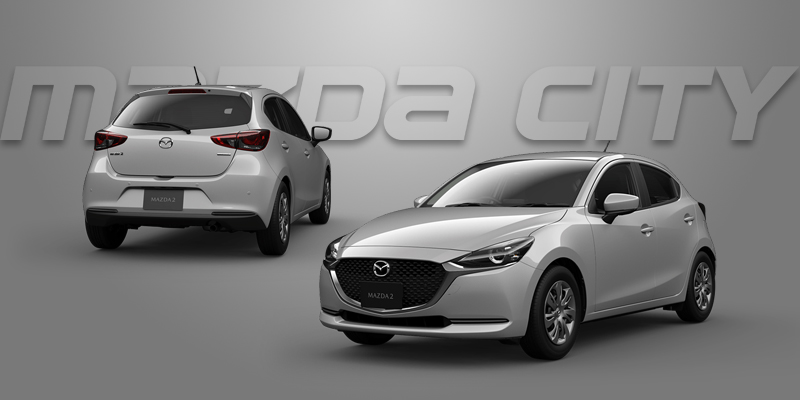 New Mazda 2 Collection 2021_Ceramic Metallic_Mazda City