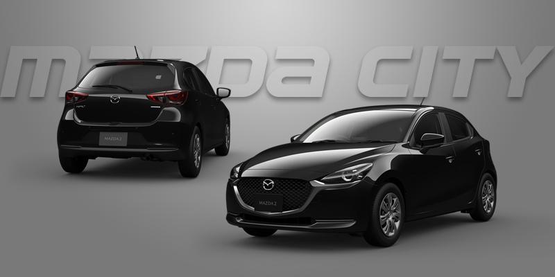 New Mazda 2 Collection 2021_Jet Black_Mazda City