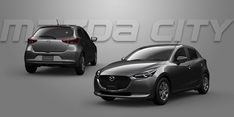 New Mazda 2 Collection 2021_Machine Gray_Mazda City