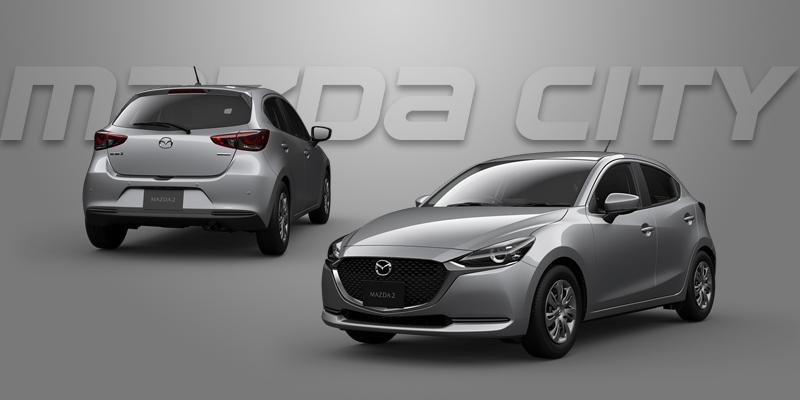 New Mazda 2 Collection 2021_Sonic Silver_Mazda City