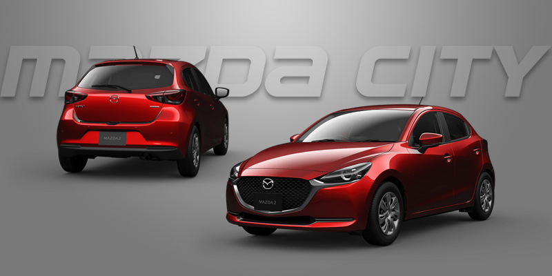 New Mazda 2 Collection 2021_Soul Red Crystal_Mazda City