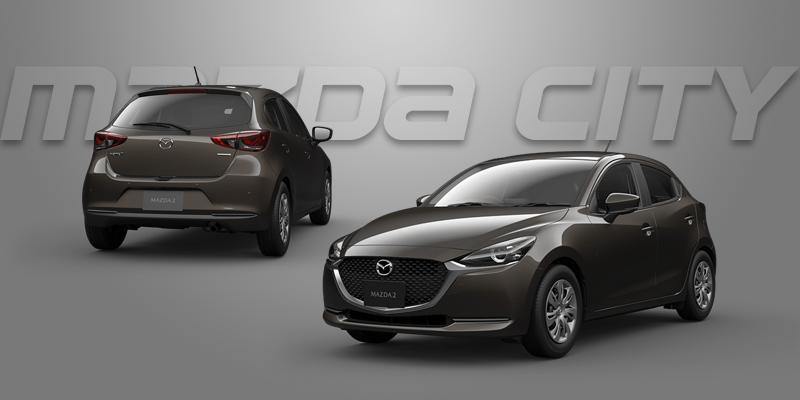 New Mazda 2 Collection 2021_Titanium Flash_Mazda City